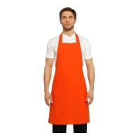 Boyundan Askılı Mutfak Önlüğü-Turuncu