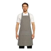 Boyundan Askılı Mutfak Önlüğü-Gri