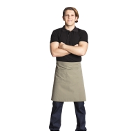 Garson ve Aşçı Önlüğü-Krem