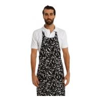 Boyundan Askılı Mutfak Önlüğü-Motif