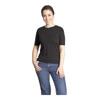 Sıfır Yaka T-Shirt-Siyah