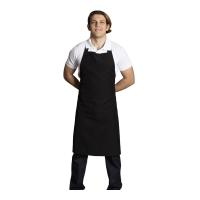 Halter- top kitchen apron-Black