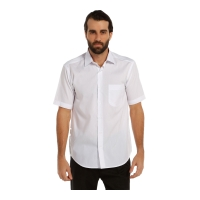 Beyaz Klasik Gömlek-Beyaz