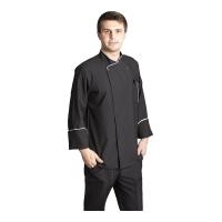 Şef Aşçı Ceketi-Siyah