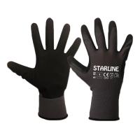 Starline E-93 Köpük Nitril Eldiven-Siyah