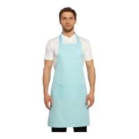 Boyundan Askılı Mutfak Önlüğü-Acık Mavi