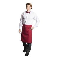 Garson ve Aşçı Önlüğü-Kırmızı