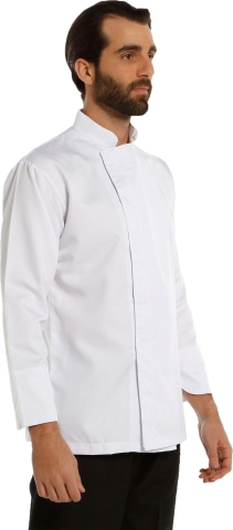 Dry touch fabric chef cook-White