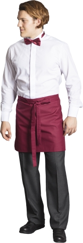 Waiter and chef apron-Claret Red