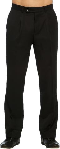 Klasik Erkek  Pantolon Yazlık-Siyah