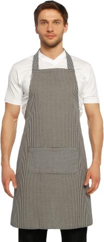 Halter- top kitchen apron-Grey
