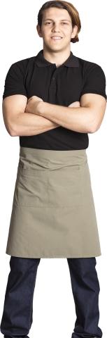 Waiter and chef apron-Cream