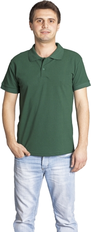 Polo neck t-shirt-Green