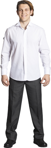 Wing collor shirt-White