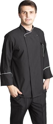 Coolmax chef cook jacket-Black