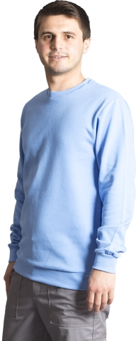 3 İplik Sweatshirt-Acık Mavi
