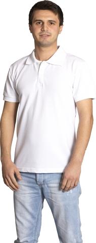 Polo neck t-shirt-White