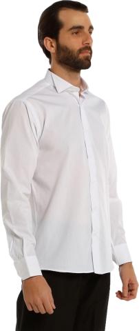 Long sleeve classic shirt-White