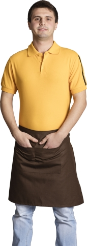 Waiter and chef apron-Brown