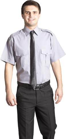 Apoletli Güvenlik Gömleği-Gri