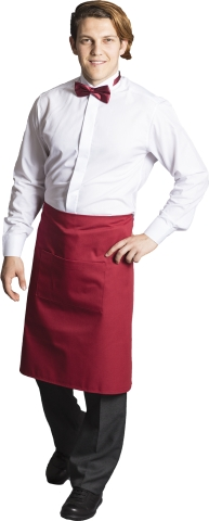 Waiter and chef apron-Red