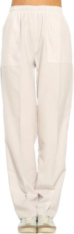 Terikoton Doktor ve Hemşire Pantolonu-Beyaz